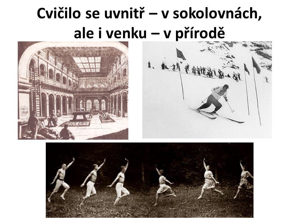 Všesokolské slety Všesokolský slet je vyvrcholení tělovýchovné činnosti Sokolů, zejména formou veřejných cvičení.