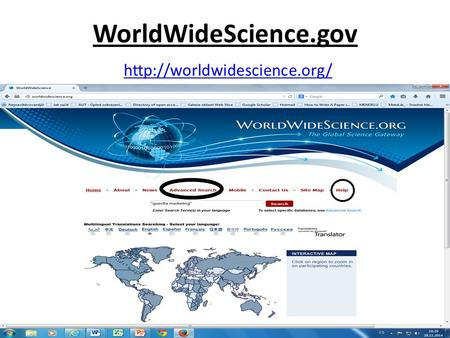 WorldWideScience.gov