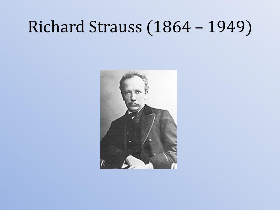 byl německý hudební skladatel éry pozdního romantismu, který se proslavil zvláště svými symfonickými básněmi a operami; byl také známým dirigentem.