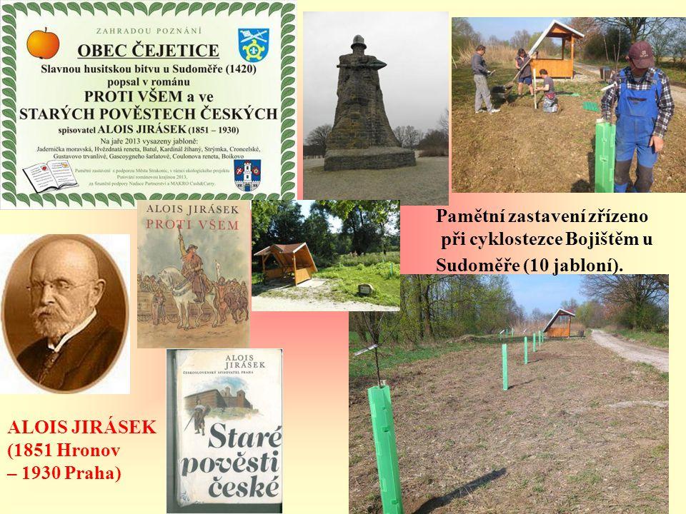 Řepice Vesnice roku ČR 2012 VÁCLAV HÁJEK Z LIBOČAN (1495 – 1553) Výsadba podél nově vybudované cyklostezky Řepice- Rovná (10 jabloní).
