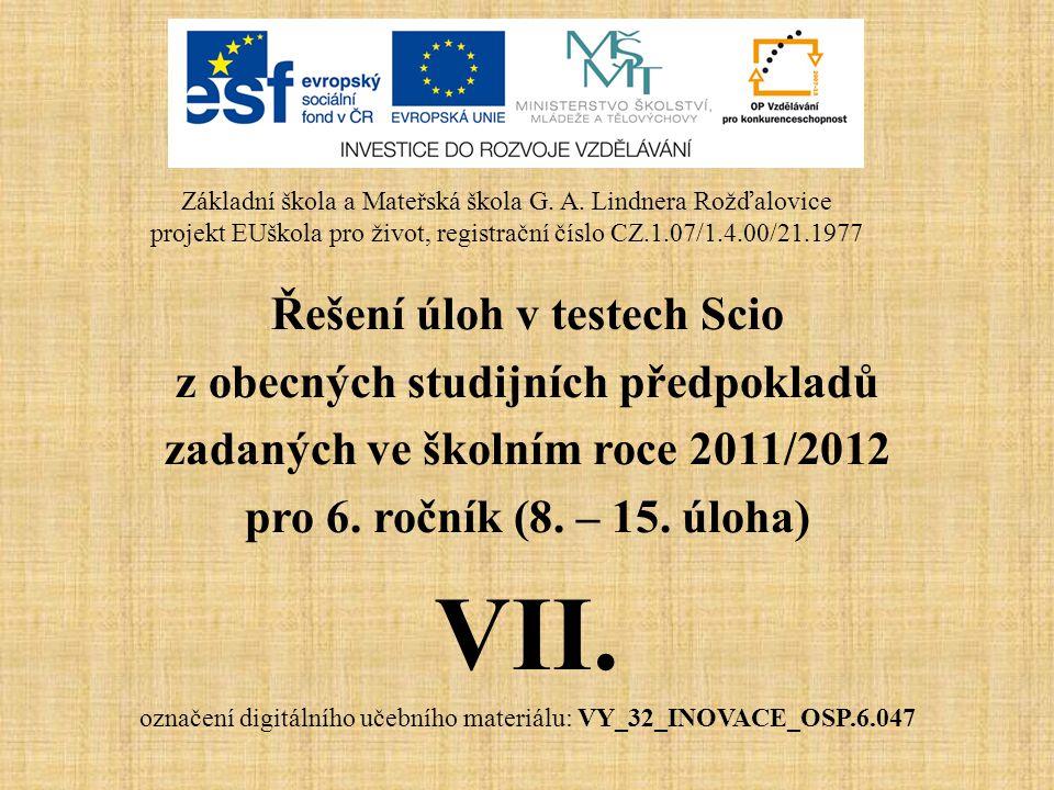 Metodické pokyny • Autor: Mgr.Roman Kotlář • Vytvořeno: říjen 2012 • Určeno pro 6.
