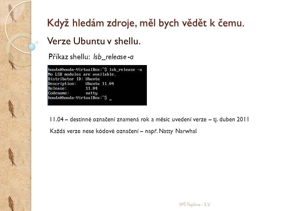 Přehled verzí Ubuntu.