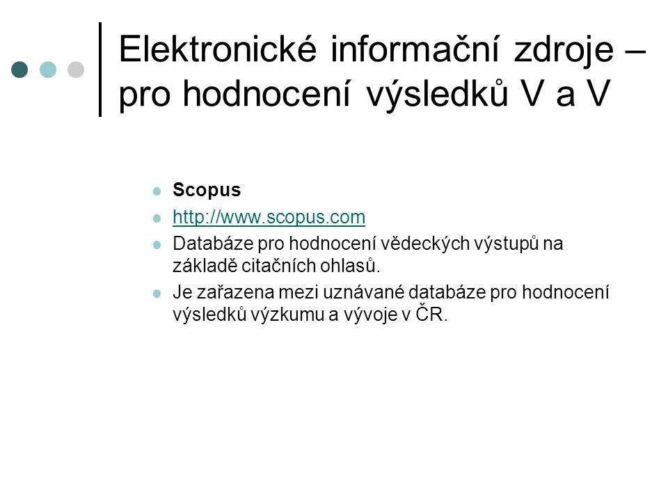 Nástroje pro integraci e-zdrojů Umožňují pracovat se všemi dostupnými elektronickými informačními zdroji z jednotného uživatelského rozhraní  Testovací přístup: •EDS – Ebsco Discovery Service •Primo •Summon