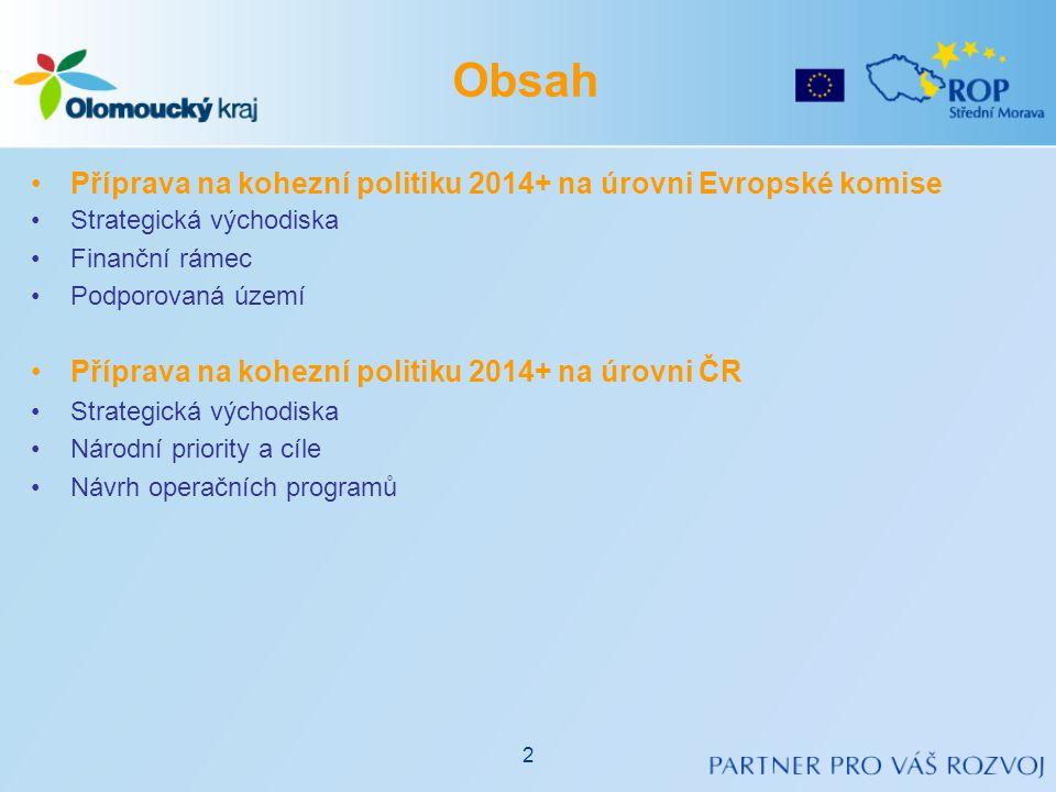 •Strategie Evropa 2020 − Strategie pro inteligentní a udržitelný růst podporující začlenění (3/2010) •Vize EU do roku 2020, priority EU: •Inteligentní růst: rozvíjet ekonomiku založenou na znalostech a inovacích.