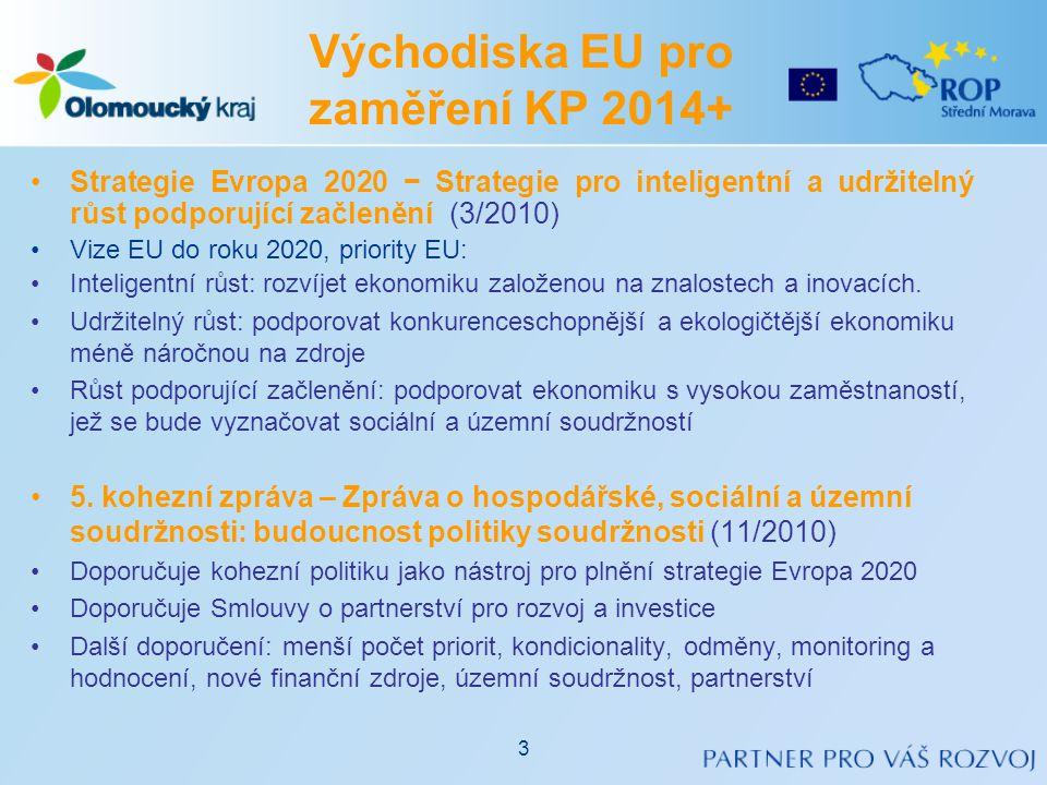 •Návrhy Nařízení Evropské komise (10/2011, 6/2012) •Vychází z 5.
