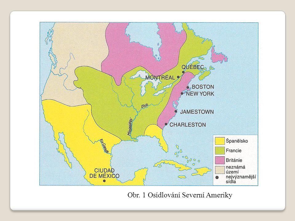 Obr. 2 Výpravy Kryštofa Kolumba