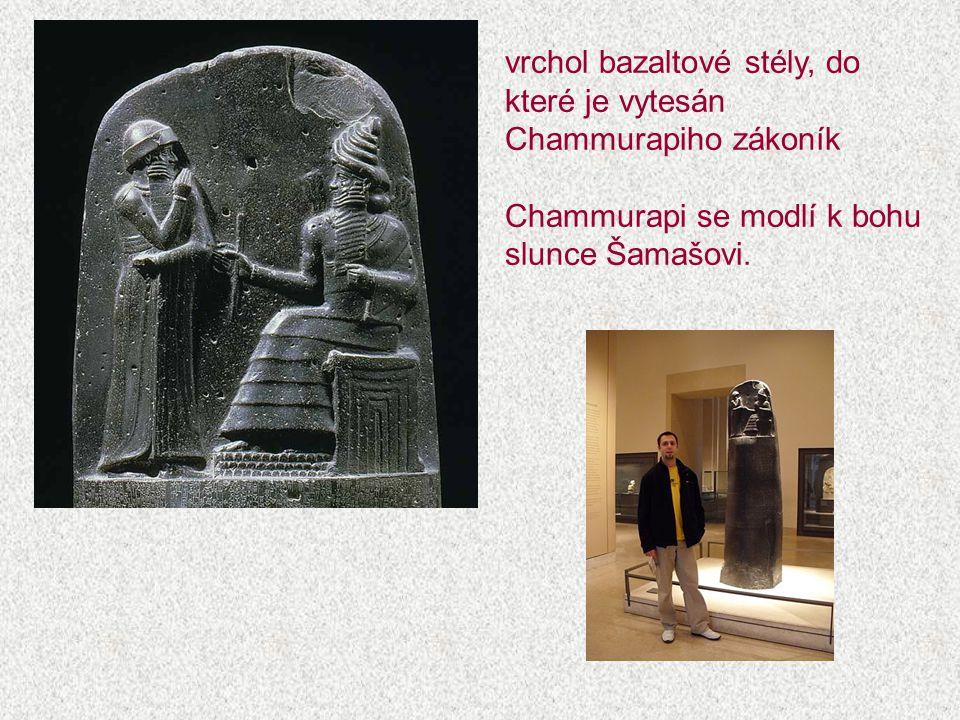 STAROORIENTÁLNÍ STÁTY MEZOPOTÁMIE 1900 – 1600 př.n.l.