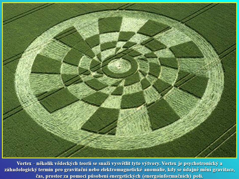 Vortex - několik vědeckých teorií se snaží vysvětlit tyto výtvory.