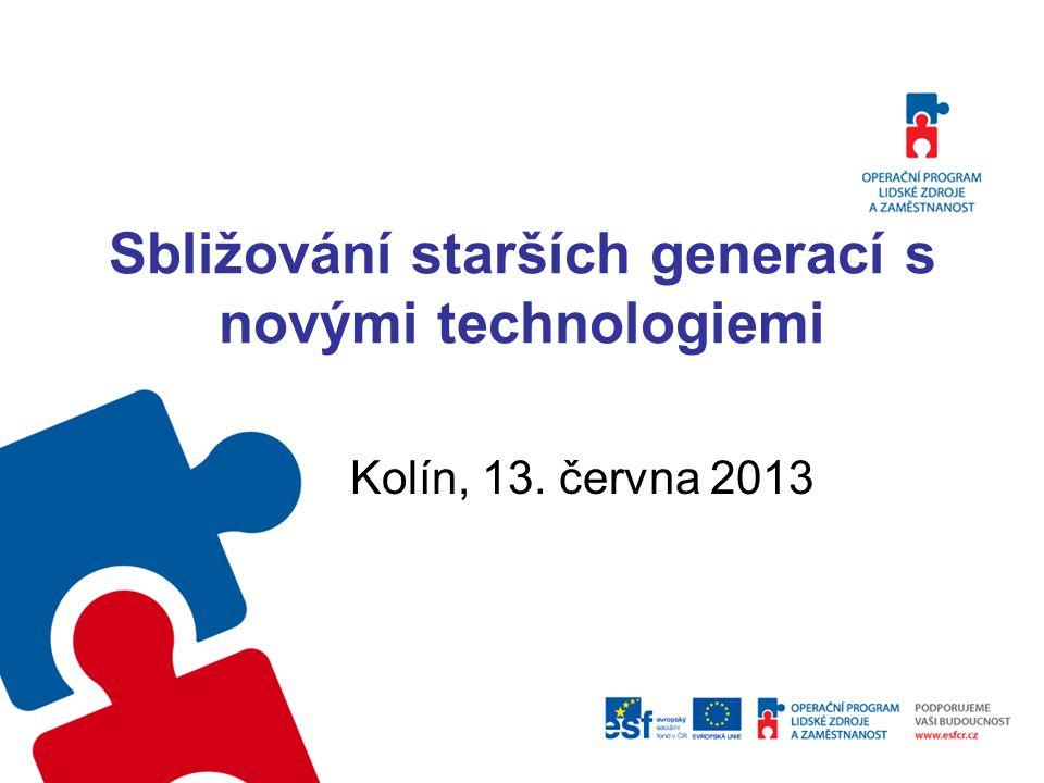2 Virtuální Univerzita třetího věku Seniorské vzdělávání přichází prostřednictvím ICT do regionů Ing.