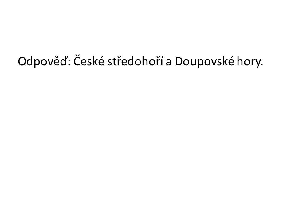 Horoskopické celky ČR 5. Pohoří v povodí řeky Jizery. Toto pohoří má nejvyšší srážky v Čechách.
