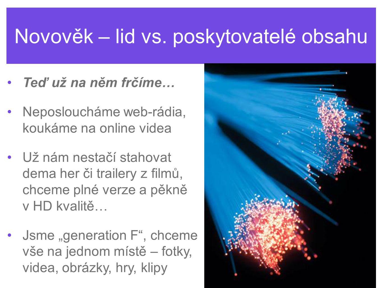 Novověk – lid vs.