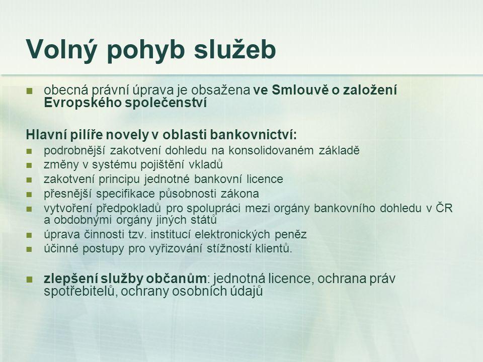 Nutné úpravy v české legislativě - nový zákon K 1.