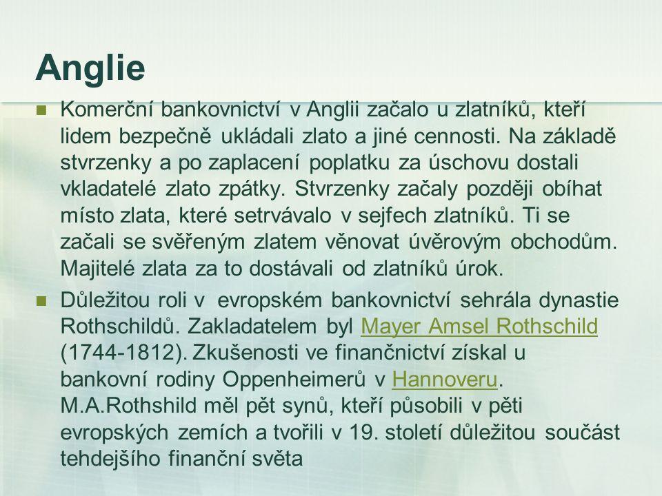 Název banka Když na konci 13.