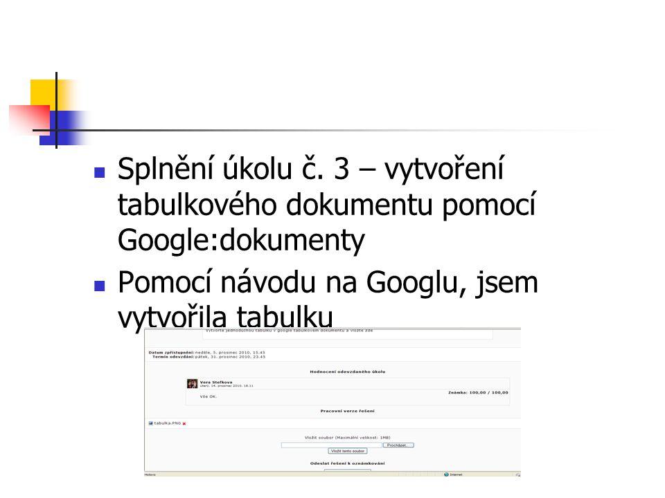 4.Vyhodnocení práce týmu Název našeho týmu č. 2 – Pilné včeličky Složení – Bc.