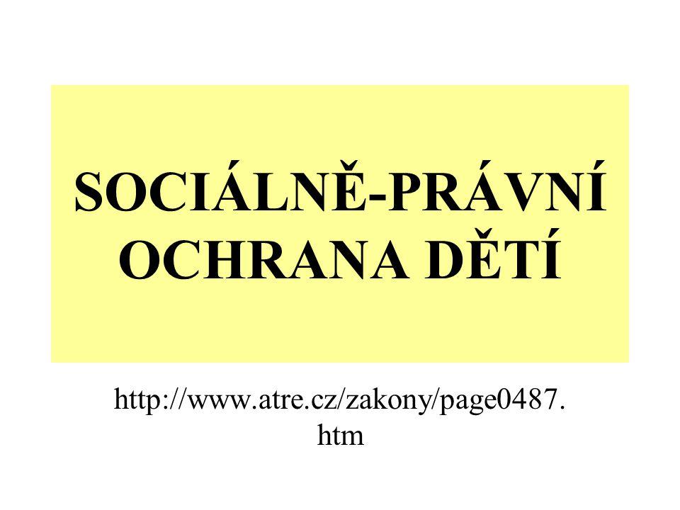 Zákon č.359/1999 Sb.