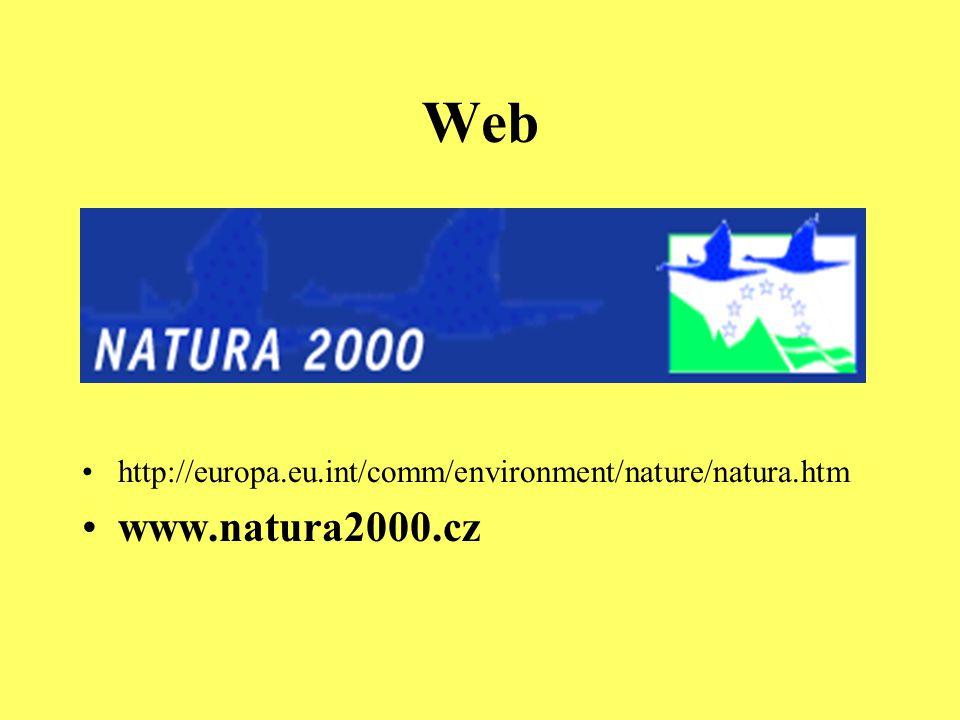 """Natura 2000 v ČR - východiska Marná snaha o přechodné období do 2005 Nové mapování, nebo návrhy """"od stolu ."""