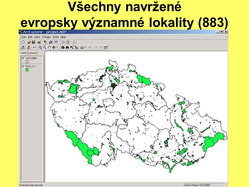 Natura 2000 nejsou jen EVL Ptačí oblasti byly navrženy pro: 40 druhů přílohy I směrnice o ptácích 6 stěhovavých druhů ptáků tj.