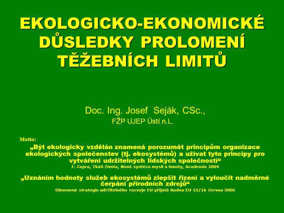Nerostné bohatství a české právo V souladu s § 5 platného horního zákona č.