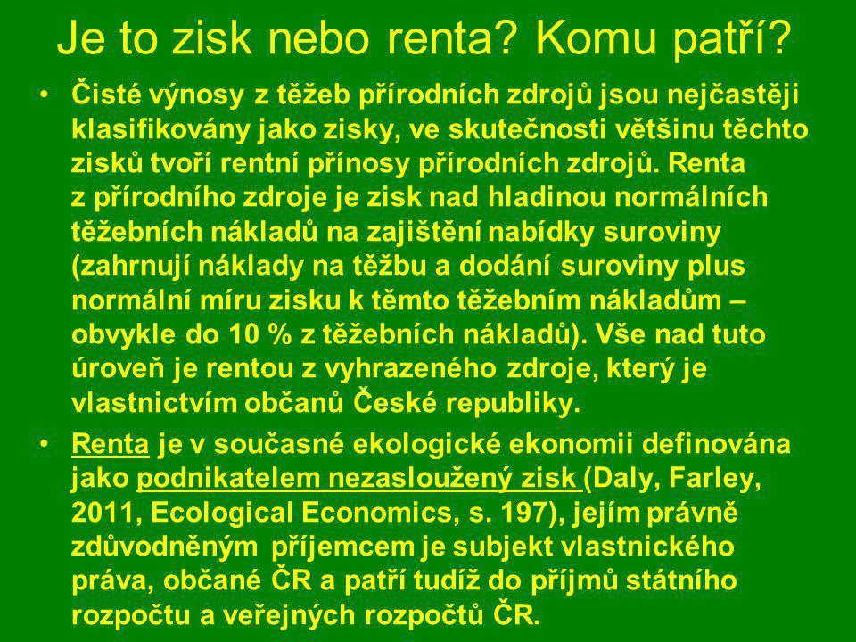 """Bezelstné přiznání Pavla Tykače """"Vršanská uhelná (vlastněná skrze Czech Coal, pozn."""