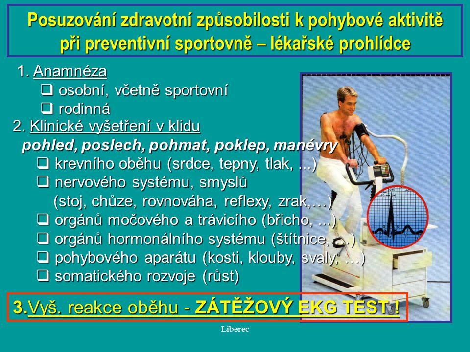 Liberec Z vyhlášky Ministerstva zdravotnictví ČR č.