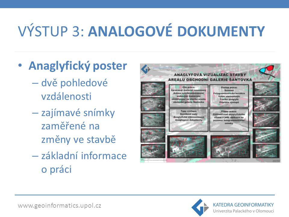 www.geoinformatics.upol.cz PŘÍNOSY soubor vytvořených vizualizací metodika pro dalších podobné studie podněty a připomínky pro budoucí výzkum