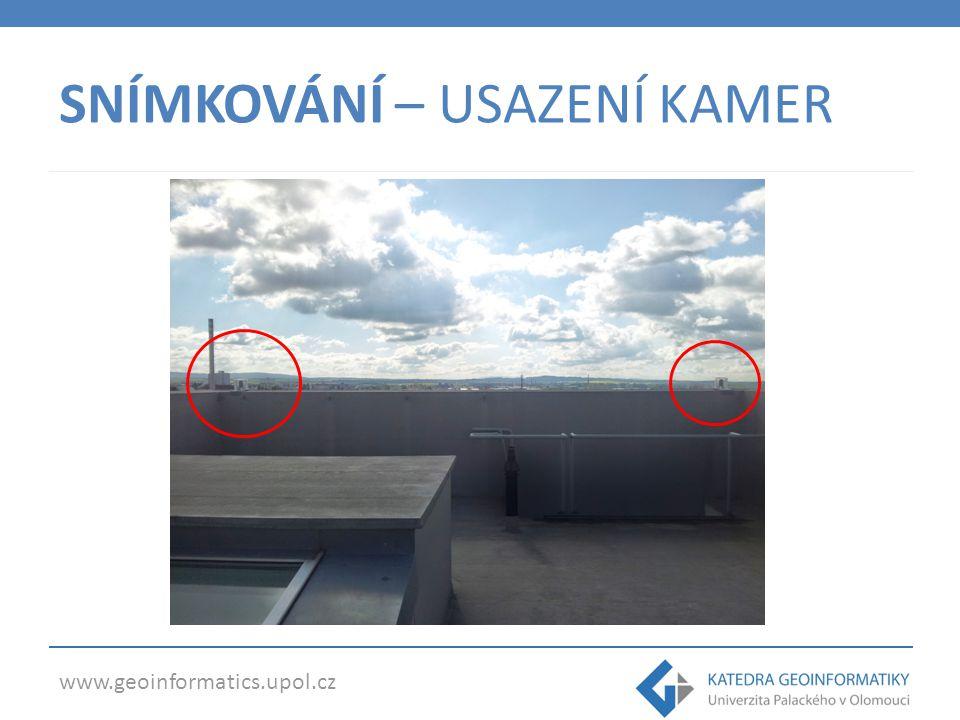 www.geoinformatics.upol.cz SNÍMKOVÁNÍ – POHLED KAMERY