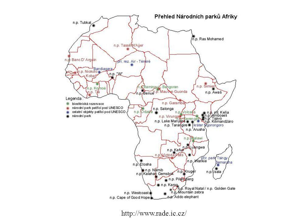 Serengeti Rozlohou 14 763 km2 patří mezi největší parky Afriky.
