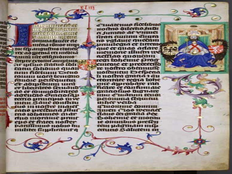 Cesta do Francie V závěru života podnikl Karel IV.