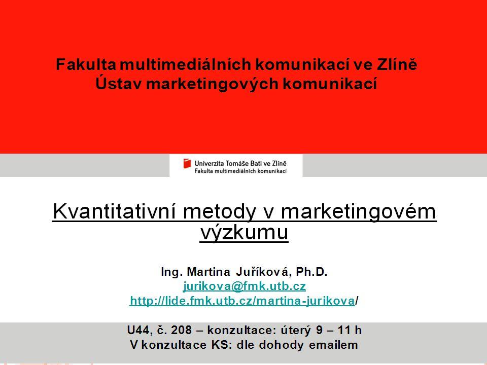 Workshop Josefa Vojty: Neuromarketing, FMK