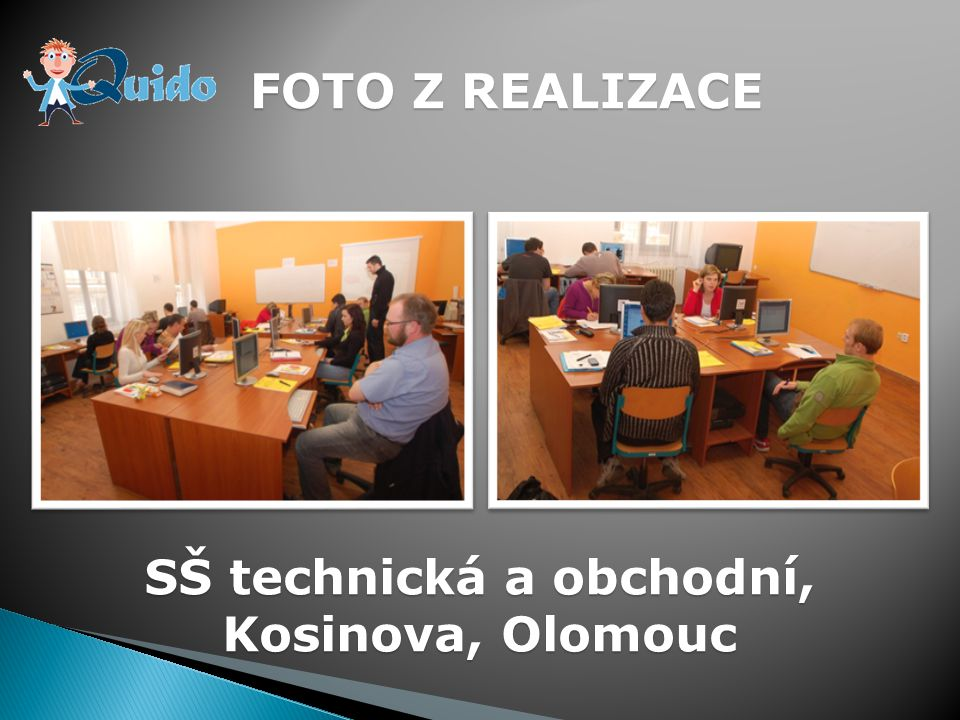 FOTO Z REALIZACE SOU Štursova Olomouc