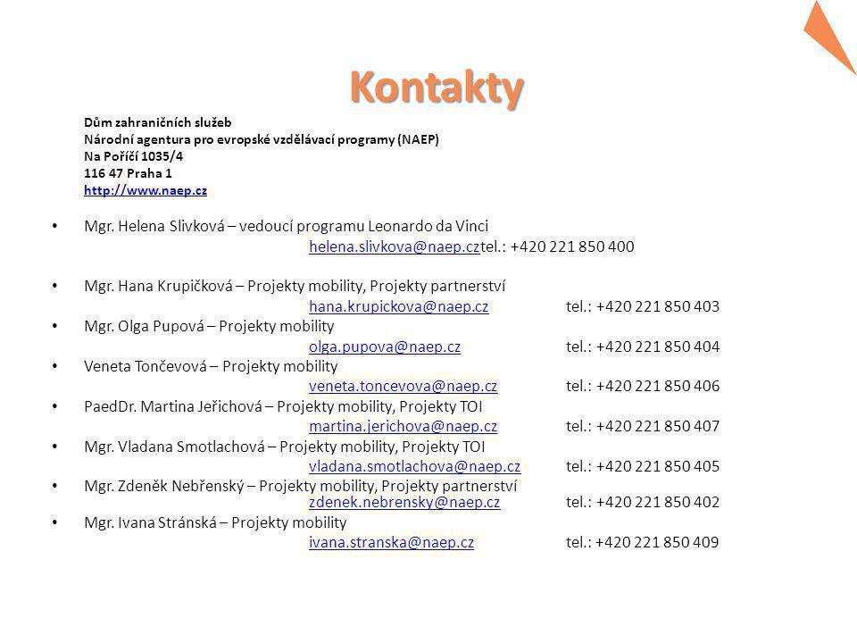 Děkujeme za pozornost. www.naep.cz