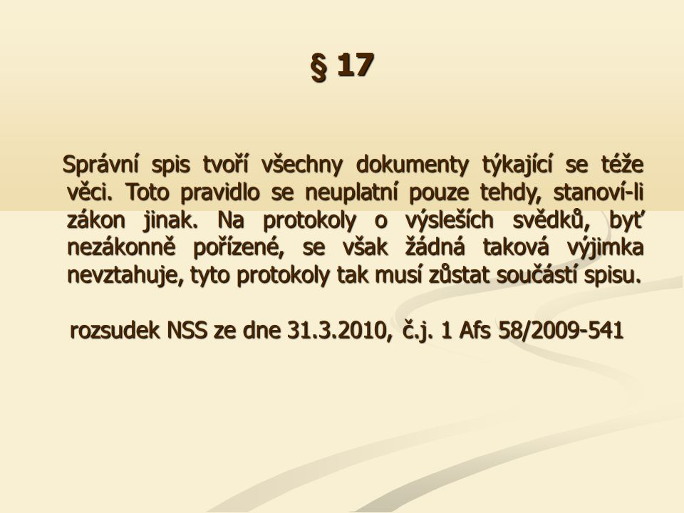 § 18 Rada pro rozhlasové a televizní vysílání provádí jednotlivé důkazy při ústním jednání.