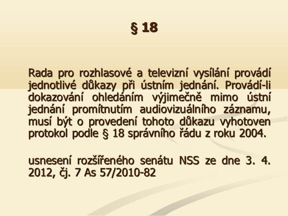§ 19 Z § 19 odst.