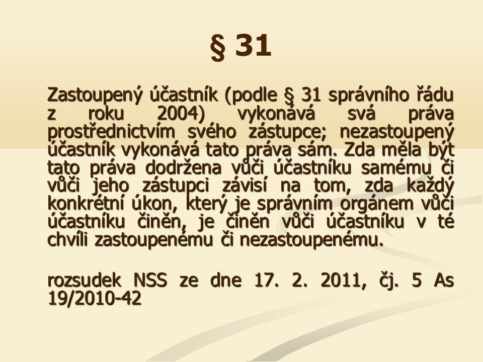 § 32 Ustanovení § 32 odst.2 písm.