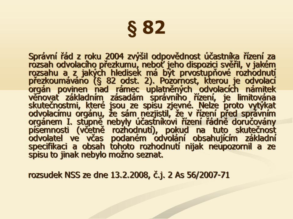 § 90 Absentuje-li v rozhodnutí I.