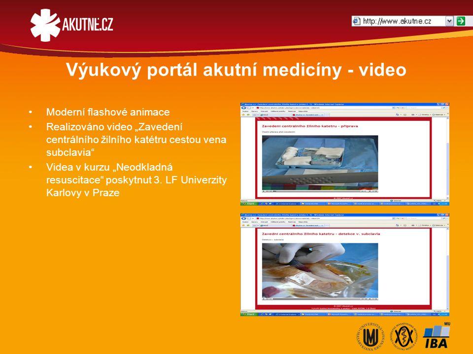 Výukový portál akutní medicíny - výuka Recenzováno studenty 1.