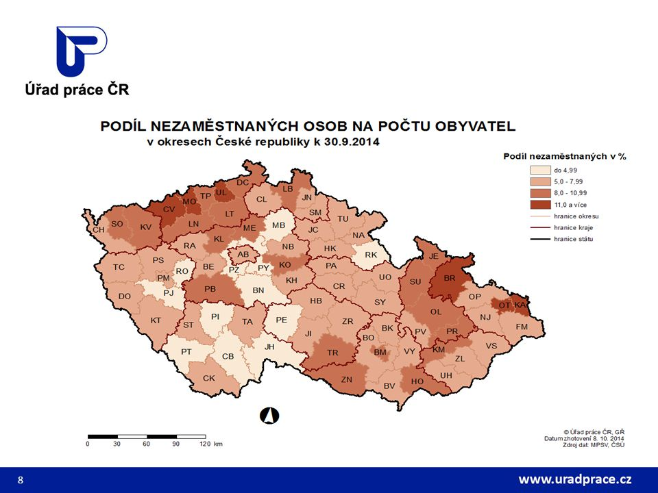 Situace na trhu práce ČR 9