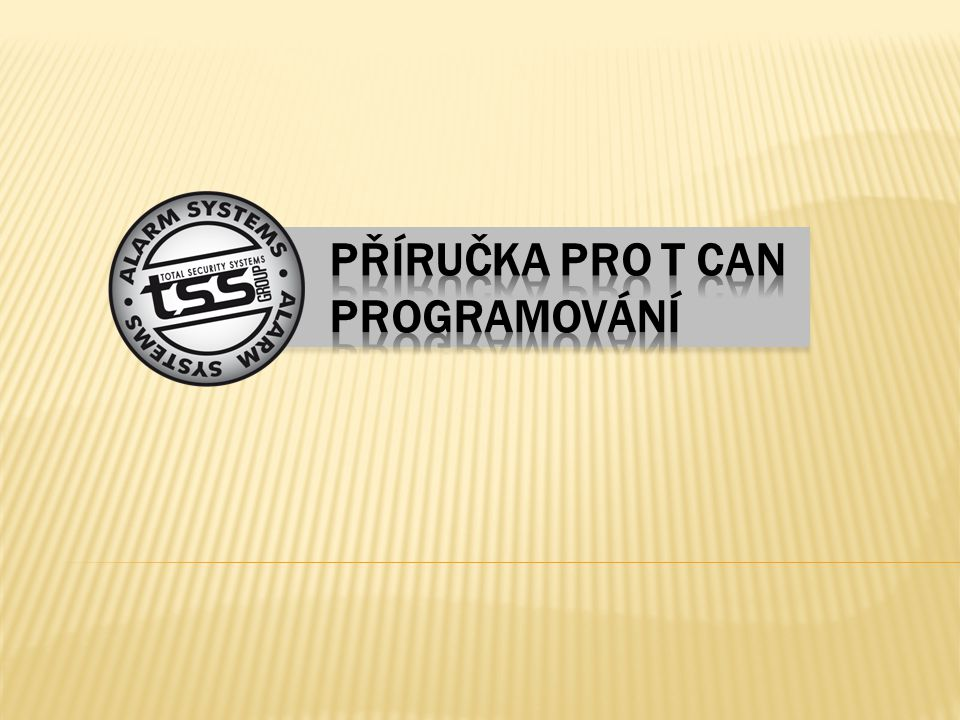 PC T CAN / R PROG T CAN