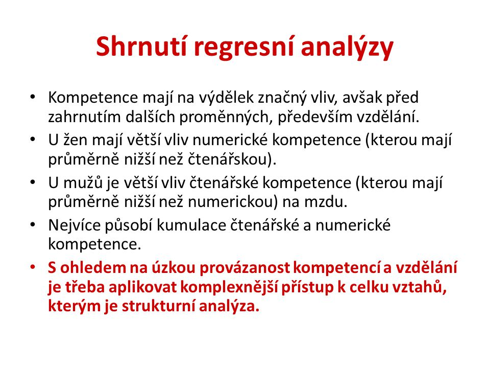 2. Strukturní model formování a zhodnocování kompetencí (Petr Matějů)