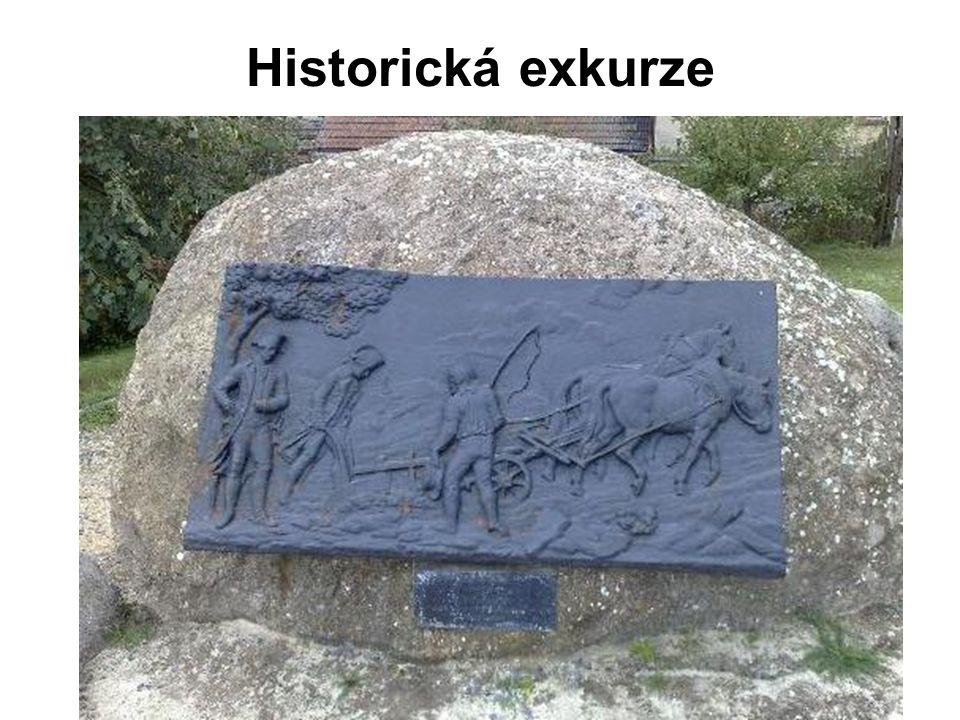 Císařská brázda poblíž Vyškova na Moravě Dne 19.