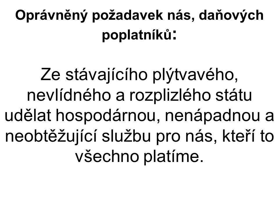Ústava ČR Státní moc slouží všem občanům a lze ji uplatňovat jen v případech, v mezích a způsoby, které stanoví zákon.