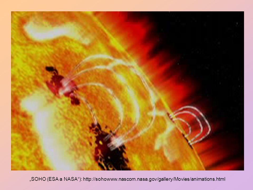 Sluneční atmosféru můžeme podle fyzikálních vlastností rozdělit na tři vrstvy: 1.