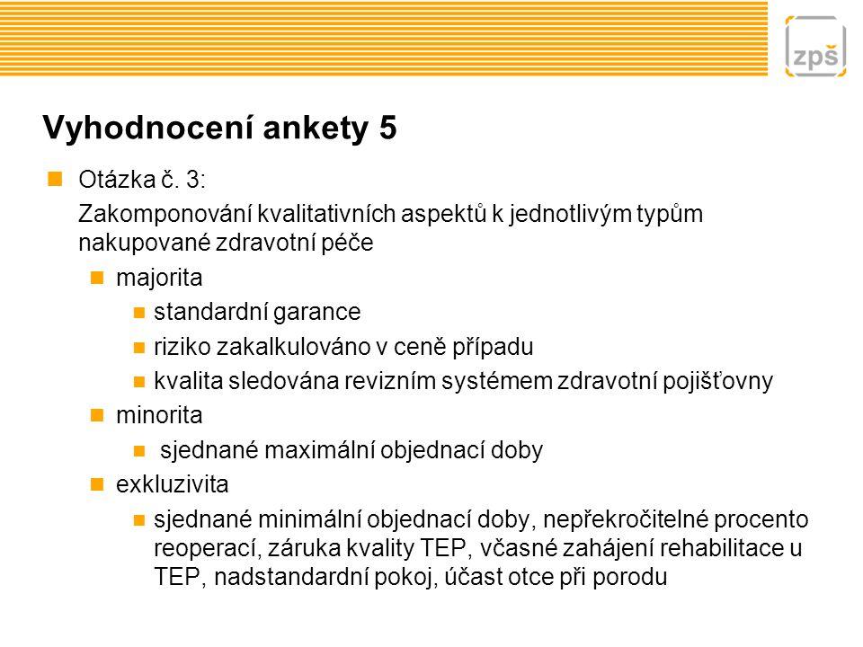 Vyhodnocení ankety 6 Otázka č.