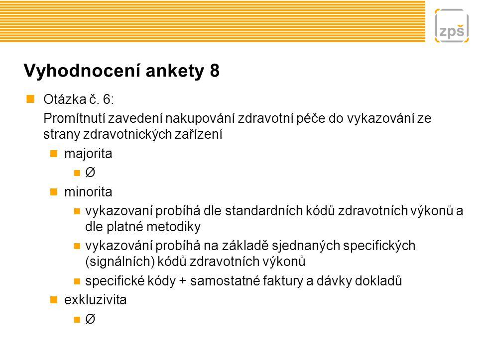 Vyhodnocení ankety 9 Otázka č.