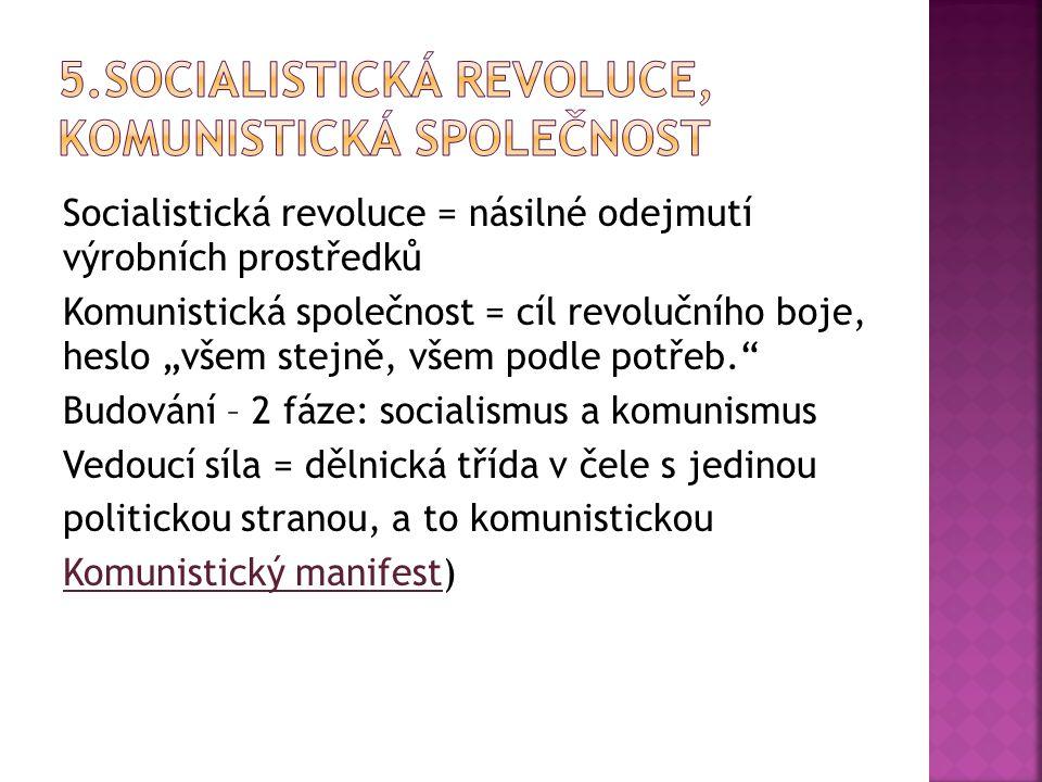  Marx.-leninismus: rozšířené Marxovo učení, státní ideologie v Rusku od 20.