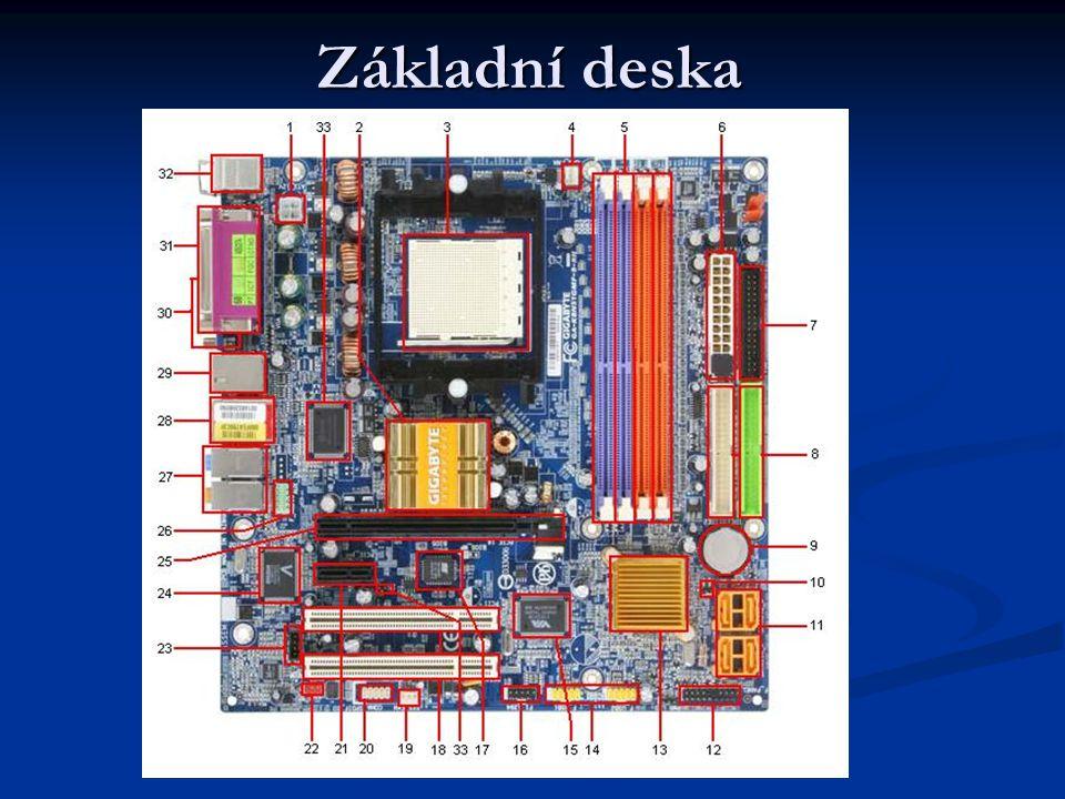 1 – Konektor napájení ATX 12V 4pin 2 – NB, čipset nVidia 6100 3 – Patice pro procesor, s939 4 – Konektor pro připojení ventilátoru chladiče CPU 5 – Patice pro paměťové moduly 6 – Konektor ATX 12V 24pin 7 – Konektor pro připojení disketové mechaniky 8 – 2x IDE konektor 9 – Baterie pro CMOS paměť 10 – CMOS clear 11 – 4x SATA konektor 12 – Konektory pro připojení předního panelu 13 – SB, čipset nForce430 14 – USB 2.0 15 - řadič FireWire 16 – FireWire IEEE1394 17 – BIOS 18 – 2x PCI slot 19 – konektor pro připojení ventilátoru 20 – COM 21 – PCIExpress x1 22 – SPDIF in/out 23 – Konektor pro připojení optické mech.