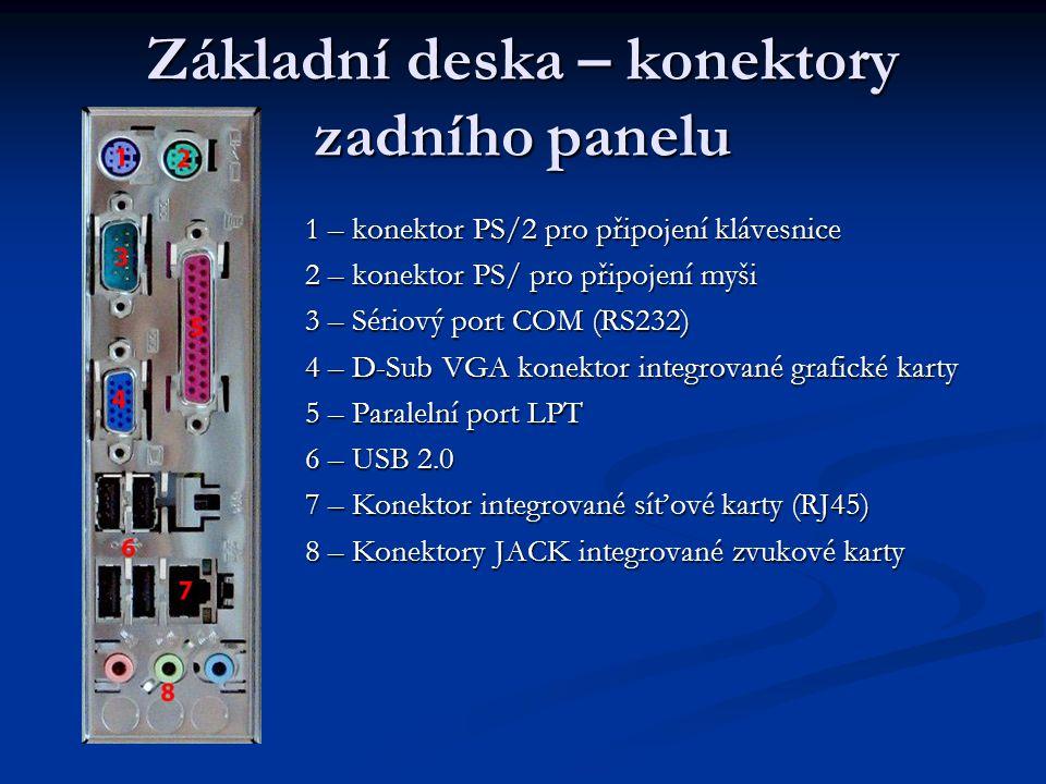 Sběrnice Sběrnice má za účel zajistit přenos dat a řídicích povelů mezi dvěma a více elektronickými zařízeními.