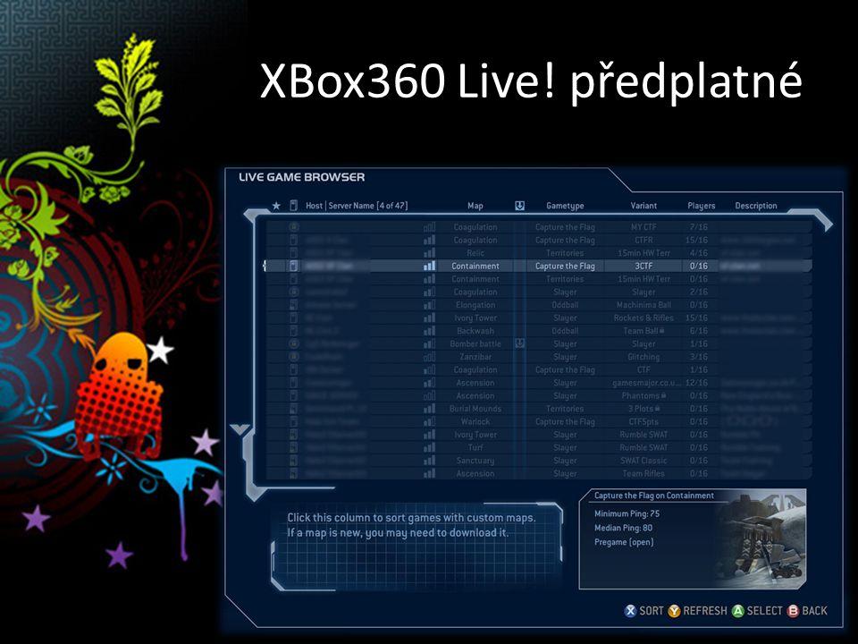 Xbox360 Live!