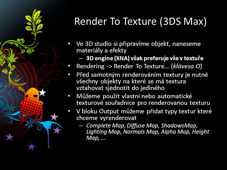 Render To Texture Autor obrázku: Michal Červenka