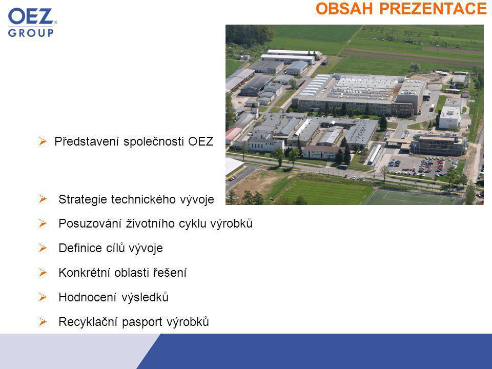    navazuje na tradici Orlických elektrotechnických závodů Charakteristika společnosti OEZ  český výrobce a dodavatel služeb v oblasti jištění elektrických obvodů a zařízení nízkého napětí s jednoznačnou orientací na potřeby zákazníka jeden z předních hráčů elektrotechnického trhu ve středoevropském regionu v Německu, v Polsku, na Slovensku, na Ukrajině a v Rusku působí prostřednictvím vlastních obchodních firem  1400 zaměstnanců